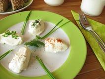 spänd yoghurt för ny labneh Royaltyfri Foto