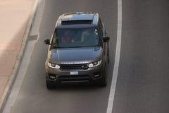 Spänna Rover Sport i Monte - carlo, Monaco Royaltyfria Bilder