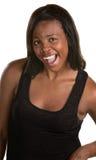 Spännande svart kvinna Royaltyfri Bild