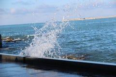 Spänningen av havet Royaltyfri Foto