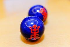 Spänningsbollar arkivfoto