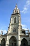 Späte gotische Kirche Lizenzfreie Stockfotografie