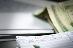 Späte Hypotheken-Gebühr Lizenzfreies Stockfoto