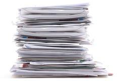 Späte Rechnungen Lizenzfreies Stockbild