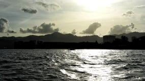 Späte Skyline Lizenzfreie Stockfotografie