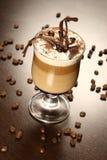 Später Kaffee Stockbild