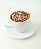 Später Kaffee mit Schokolade lizenzfreies stockbild