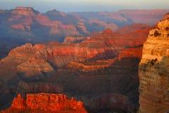 Später Nachmittag, Hopi-Punkt stockbild