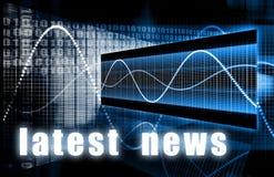 Späteste Nachrichten vektor abbildung