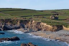 Gunwalloe Kirchen-Bucht Cornwall Lizenzfreies Stockbild