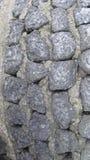 Spår av den grova stenen arkivfoton