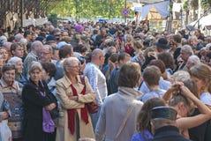 Spår av den judiska Warszawa - odla festivalen 2010 Royaltyfria Foton