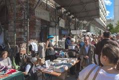 Spår av den judiska Warszawa - odla festivalen 2010 Arkivbild