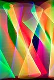 Spår av ljus Arkivbilder