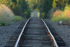 spår för ängelmt-järnväg Royaltyfri Fotografi