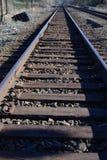 spår för 2 järnväg Royaltyfri Fotografi