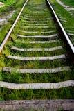 Spår för stångväg Arkivbilder