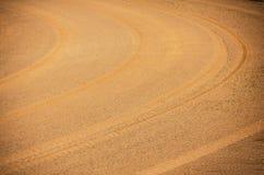 Spår för texturkurvhjul Royaltyfri Foto
