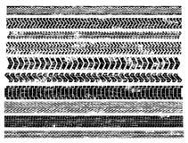 spåriner däck Arkivbild