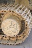 spåring grävskopa Arkivbild
