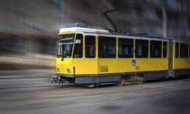 Spårvagn Almaty Arkivfoto
