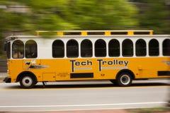 Spårvagn av Georgia Tech arkivbilder