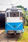 Spårvagn av Kolkata Arkivbild