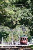 Spårvagn för Melbourne stadscirkel arkivfoton