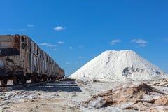 Spårvagn för salt Royaltyfria Foton