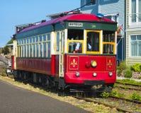 Spårvagn för strand för Astoria ` s Arkivfoton