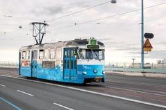 Spårvagn i Gothenburg, Sverige Royaltyfria Foton