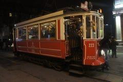 Spårvagn i Instanbul Royaltyfria Foton