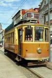 Spårvagn i Porto Royaltyfria Bilder