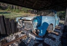 Spårvagn i Serbien Arkivfoto