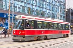 Spårvagn i Toronto, Kanada Royaltyfri Foto