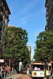 Spårvagn på San Francisco Arkivfoton