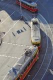 spårvagnar Fotografering för Bildbyråer