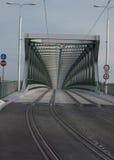 Spårvagnbro Bratislava Arkivfoton