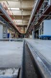 Spårvagnfabrik Royaltyfria Foton