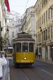 Spårvagnritter runt om staden Royaltyfri Bild