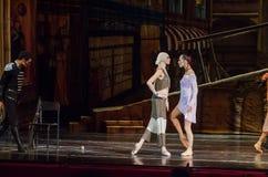 Spårvagnsförare och Jose för modern balett royaltyfria bilder