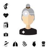 Spécialiste médical Avatar Photo stock
