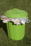 Spéculation monétaire Image libre de droits