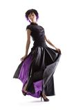 spódnica purpurowy Zdjęcia Stock