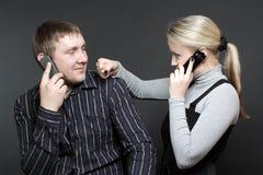 spór słucha ja nie zdjęcie royalty free
