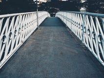 spökad bro Arkivbild