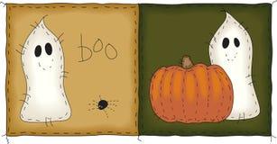 spökar little två Arkivbilder