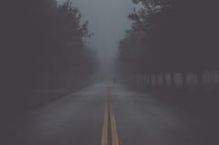 Spökar på vägen Arkivbilder