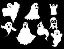 spökar ställde in Arkivfoto