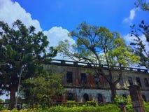 Spökat hotell på Baguio, Filippinerna Royaltyfria Foton